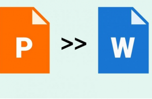 Convert Powerpoint Files to Word