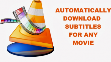 Downloaded Subtitles Automatically in VLC