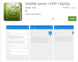 Set Up Web Server on your Android