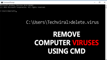 How To Remove Computer Viruses Using CMD
