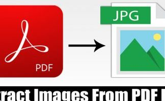 How to Extract Images From PDF File in 2020
