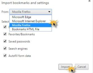 How to Migrate all Data from Chrome to Firefox