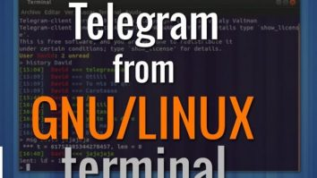 How to Use Telegram From Linux Command Line
