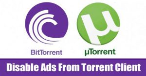 How To Disable Ads From Torrent