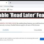 How To Enable 'Read Later' Feature Of Chrome Browser
