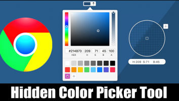 How to Use the Hidden Color Picker Tool of Chrome Browser