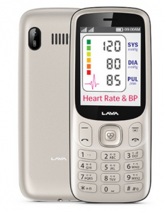 SmartPhone with built-in Heart Rate Sensor