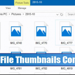 How to Disable File Thumbnails in Windows 10 Completely