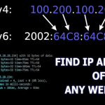 How to Find Server's IP Address of Any Website