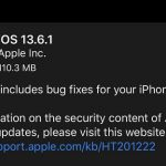 Apple Releases iOS and iPadOS 13.6.1, Fix Storage Issues, and more