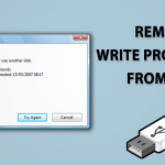 How To Remove Write Protection From USB or SD Card