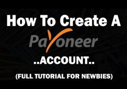 How to Create Payoneer Account