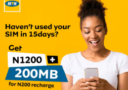 MTN Offer For Un-used Sim