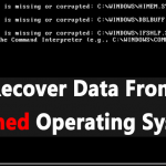 How To Recover Data From a Crashed Operating System