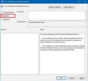 How To Disable Windows Defender in 2020