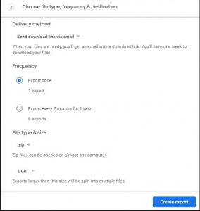 How to Download All of Your Google Account Data