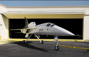 Boom launches the XB-1 test aircraft