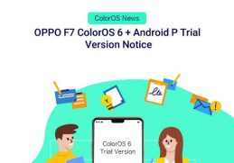 Oppo F7 ColorOS 6 Android P Beta Version Notice