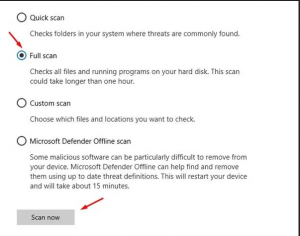 How to Full Scan Your PC using Microsoft's Windows Defender