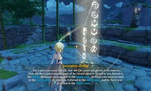 How to Solve the Incomplete Writing Puzzle in Genshin Impact